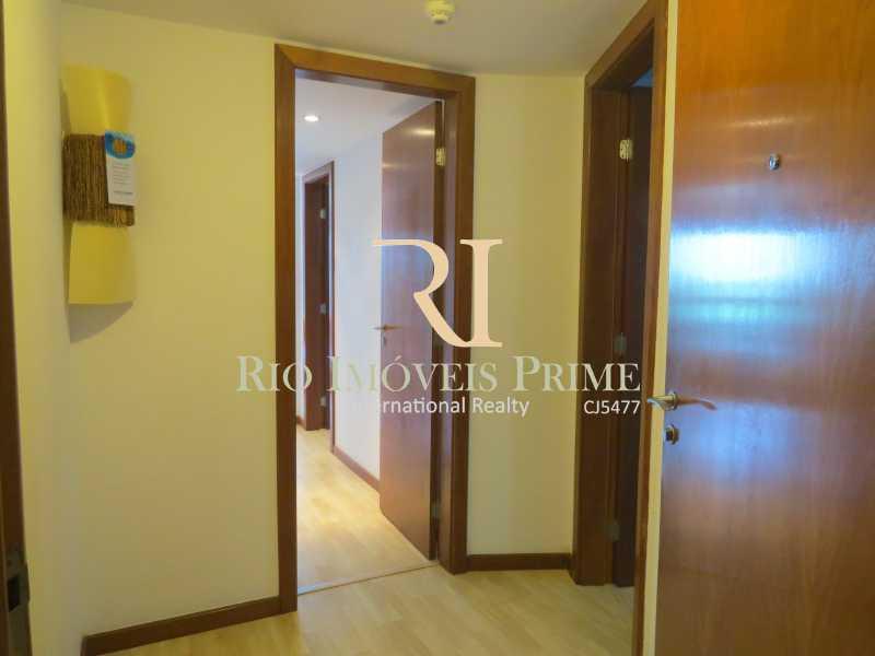 HALL ENTRADA - Flat 2 quartos à venda Barra da Tijuca, Rio de Janeiro - R$ 1.199.999 - RPFL20029 - 7