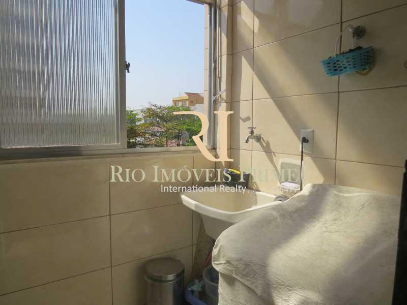 ÁREA SERVIÇO - Apartamento à venda Rua Zamenhof,Estácio, Rio de Janeiro - R$ 410.000 - RPAP20135 - 17