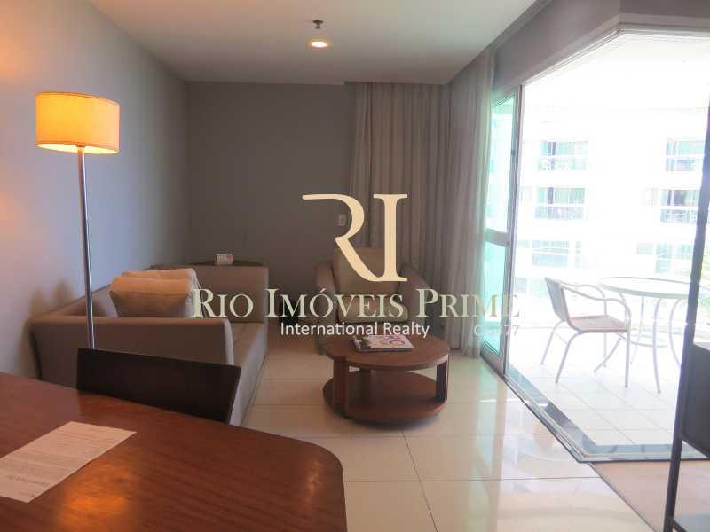 SALA - Flat 1 quarto à venda Barra da Tijuca, Rio de Janeiro - R$ 419.900 - RPFL10084 - 5