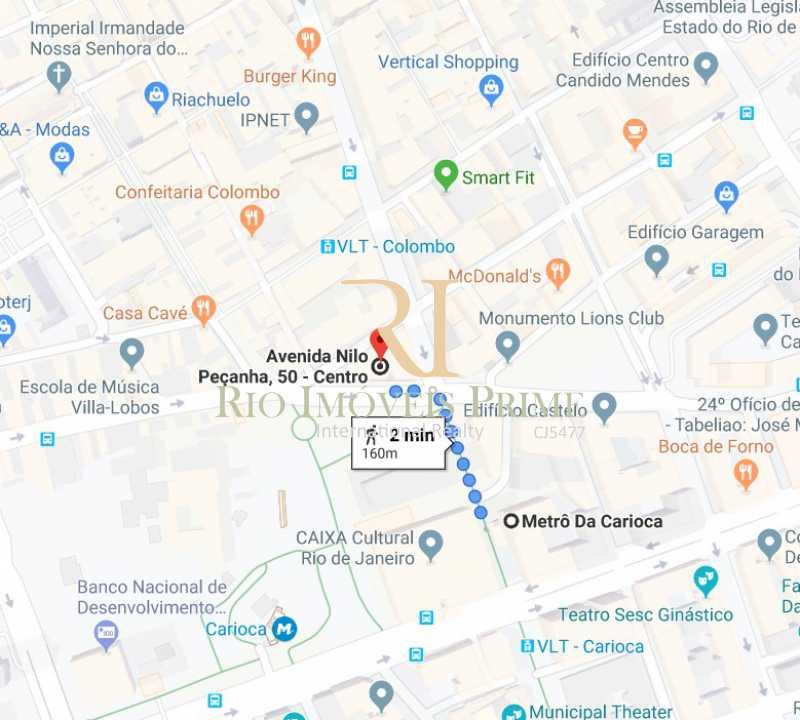 DE PAOLI - METRÔ CARIOCA - Sala Comercial 36m² para alugar Avenida Nilo Peçanha,Centro, Rio de Janeiro - R$ 750 - RPSL00018 - 19