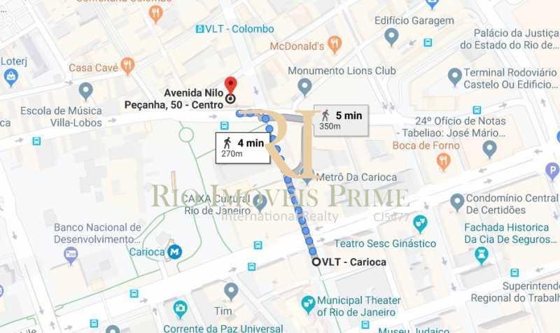 DE PAOLI - VLT CARIOCA - Sala Comercial 36m² para alugar Avenida Nilo Peçanha,Centro, Rio de Janeiro - R$ 750 - RPSL00018 - 20