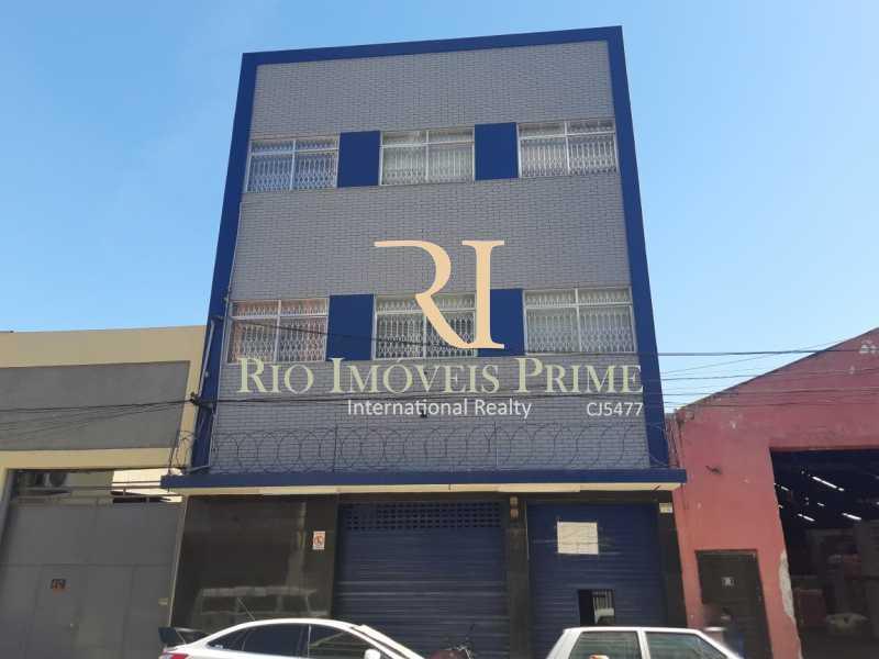 FACHADA. - Prédio 900m² para alugar Santo Cristo, Rio de Janeiro - R$ 15.000 - RPPR00002 - 1