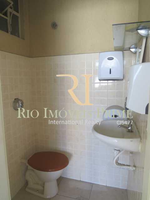 BANHEIRO - Sala Comercial 27m² para venda e aluguel Rua Sacadura Cabral,Saúde, Rio de Janeiro - R$ 97.999 - RPSL00019 - 8