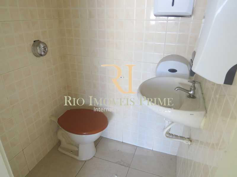 BANHEIRO - Sala Comercial 27m² para venda e aluguel Rua Sacadura Cabral,Saúde, Rio de Janeiro - R$ 97.999 - RPSL00019 - 9