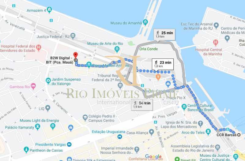 DISTANCIA BARCAS - Sala Comercial 27m² para venda e aluguel Rua Sacadura Cabral,Saúde, Rio de Janeiro - R$ 97.999 - RPSL00019 - 17