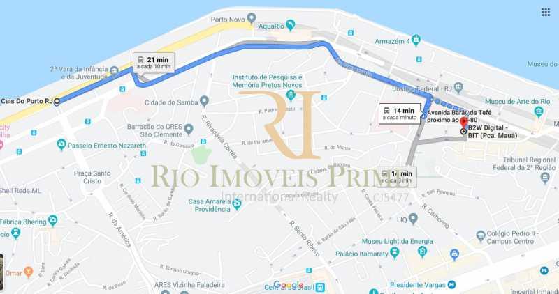 CAIS DO PORTO VIA VLT - Sala Comercial 27m² para venda e aluguel Rua Sacadura Cabral,Saúde, Rio de Janeiro - R$ 97.999 - RPSL00019 - 18