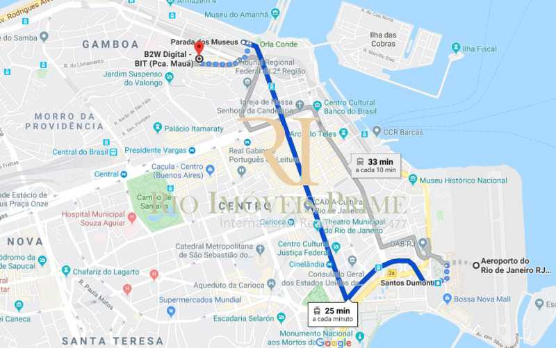 VLT X AEROPORTO - Sala Comercial 27m² para venda e aluguel Rua Sacadura Cabral,Saúde, Rio de Janeiro - R$ 97.999 - RPSL00019 - 19