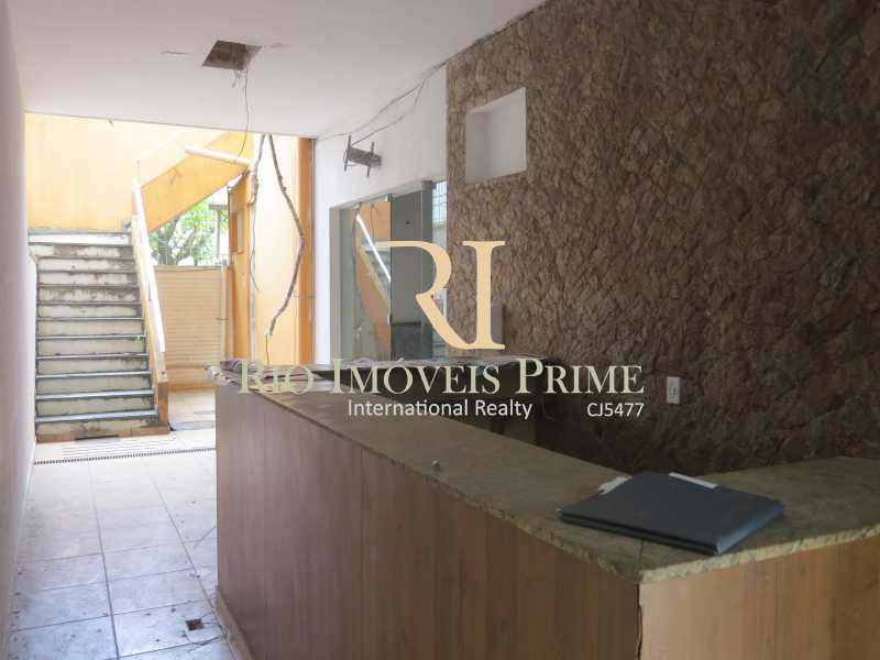 ENTRADA LATERAL - Prédio 414m² para venda e aluguel Rua Caruso,Tijuca, Rio de Janeiro - R$ 930.000 - RPPR00003 - 3