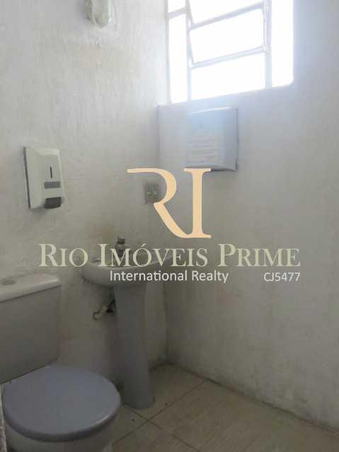 WC PAV1 - Prédio 414m² para venda e aluguel Rua Caruso,Tijuca, Rio de Janeiro - R$ 930.000 - RPPR00003 - 8
