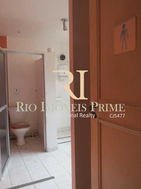 WC MASCULINO PAV2 - Prédio 414m² para venda e aluguel Rua Caruso,Tijuca, Rio de Janeiro - R$ 930.000 - RPPR00003 - 15