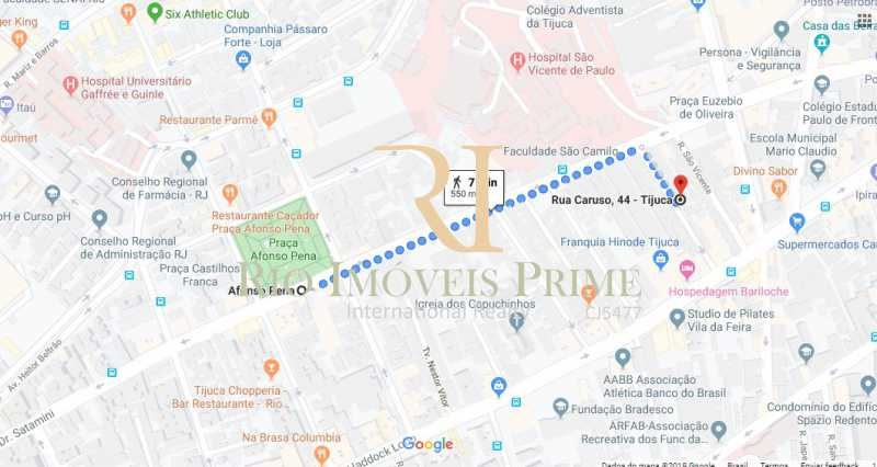 DISTANCIA METRO - Prédio 414m² para venda e aluguel Rua Caruso,Tijuca, Rio de Janeiro - R$ 930.000 - RPPR00003 - 21