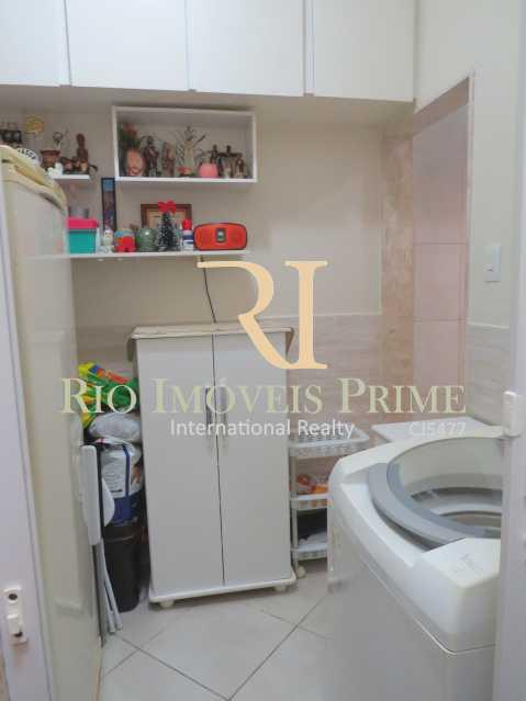 QUARTO SERVIÇO - Apartamento à venda Rua Barão de Mesquita,Tijuca, Rio de Janeiro - R$ 499.900 - RPAP20147 - 16