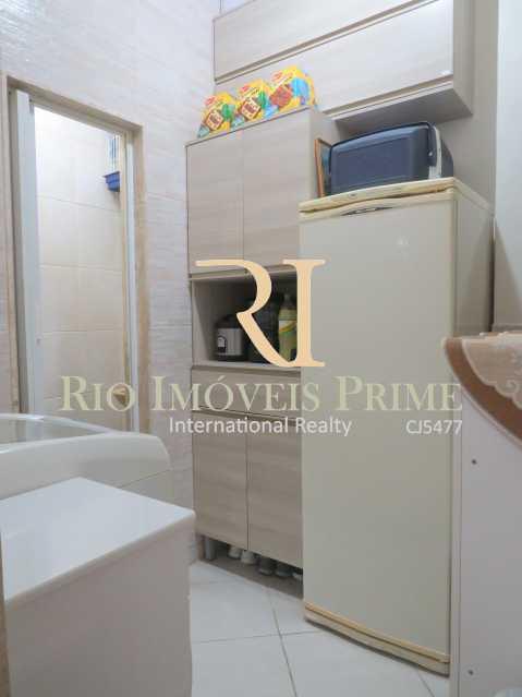 QUARTO SERVIÇO - Apartamento à venda Rua Barão de Mesquita,Tijuca, Rio de Janeiro - R$ 499.900 - RPAP20147 - 17