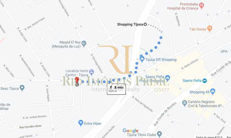 DISTANCIA SHOPPING TIJUCA - Apartamento à venda Rua Barão de Mesquita,Tijuca, Rio de Janeiro - R$ 499.900 - RPAP20147 - 21