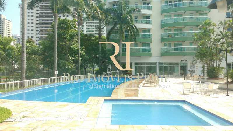 PISCINAS - Flat 1 quarto para alugar Barra da Tijuca, Rio de Janeiro - R$ 2.300 - RPFL10088 - 14