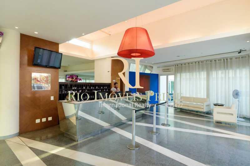 RECEPÇÃO 24H - Flat 1 quarto para alugar Barra da Tijuca, Rio de Janeiro - R$ 2.300 - RPFL10088 - 18