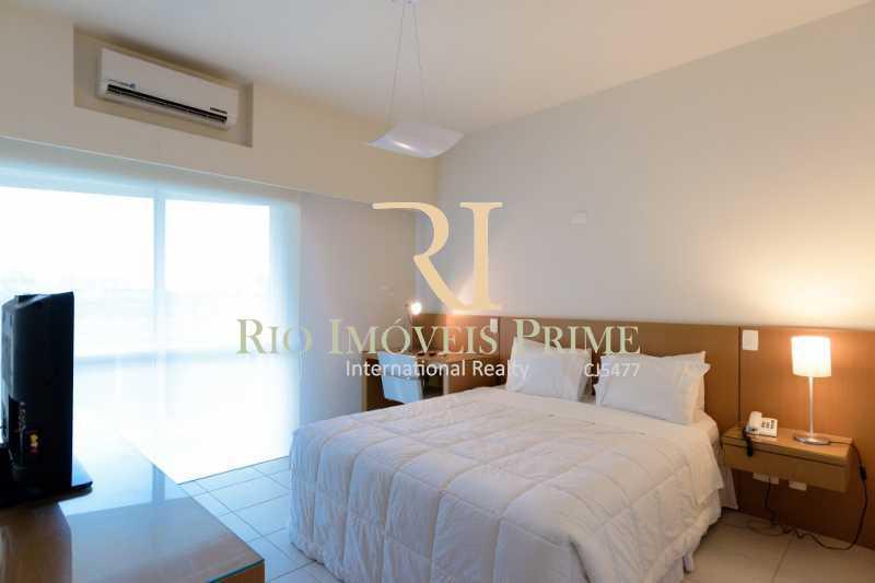 SUITE - Flat 1 quarto para alugar Barra da Tijuca, Rio de Janeiro - R$ 2.300 - RPFL10088 - 1