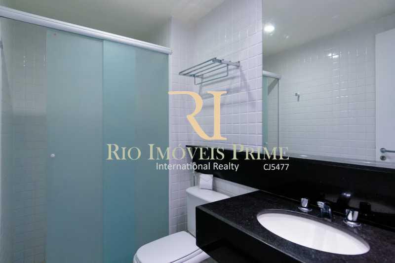 BANHEIRO - Flat 1 quarto para alugar Barra da Tijuca, Rio de Janeiro - R$ 2.300 - RPFL10088 - 4