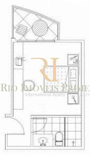 PLANTA SUITE - Flat 1 quarto para alugar Barra da Tijuca, Rio de Janeiro - R$ 2.300 - RPFL10088 - 13