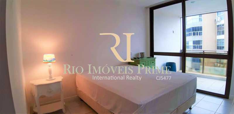 SUÍTE CASAL - Flat 2 quartos à venda Barra da Tijuca, Rio de Janeiro - R$ 2.110.000 - RPFL20032 - 3