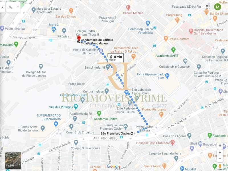 DISTÂNCIA METRÔ - Apartamento para alugar Rua São Francisco Xavier,Tijuca, Rio de Janeiro - R$ 1.500 - RPAP20154 - 17