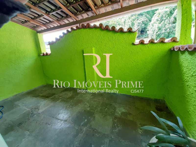 VARANDA QUARTO2 - Casa à venda Rua Gonçalves,Santa Teresa, Rio de Janeiro - R$ 480.000 - RPCA30003 - 15