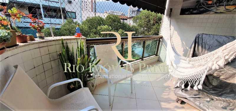 VARANDA. - Apartamento 2 quartos para alugar Tijuca, Rio de Janeiro - R$ 2.200 - RPAP20157 - 3