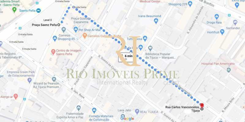DISTANCIA METRO - Apartamento à venda Rua Carlos de Vasconcelos,Tijuca, Rio de Janeiro - R$ 588.999 - RPAP30101 - 20