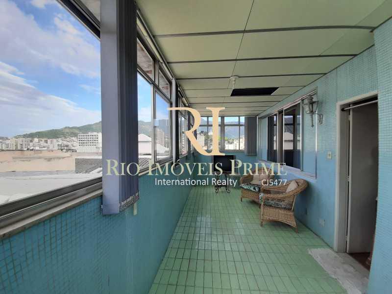 1 VARANDA - Cobertura à venda Rua Torres Homem,Vila Isabel, Rio de Janeiro - R$ 459.990 - RPCO30019 - 1