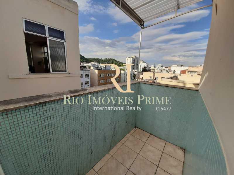 6 VARANDA SALA - Cobertura à venda Rua Torres Homem,Vila Isabel, Rio de Janeiro - R$ 459.990 - RPCO30019 - 7