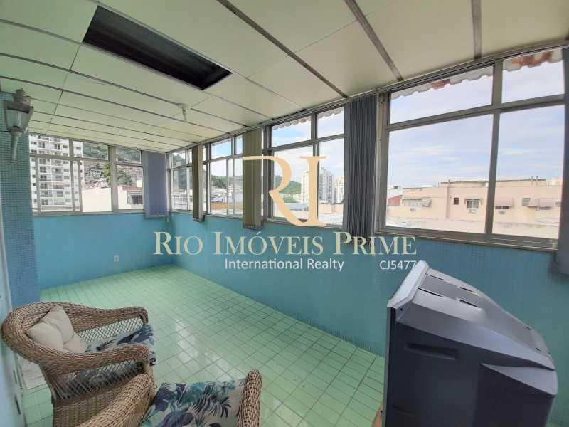 12 VARANDA QUARTO2 - Cobertura à venda Rua Torres Homem,Vila Isabel, Rio de Janeiro - R$ 459.990 - RPCO30019 - 13