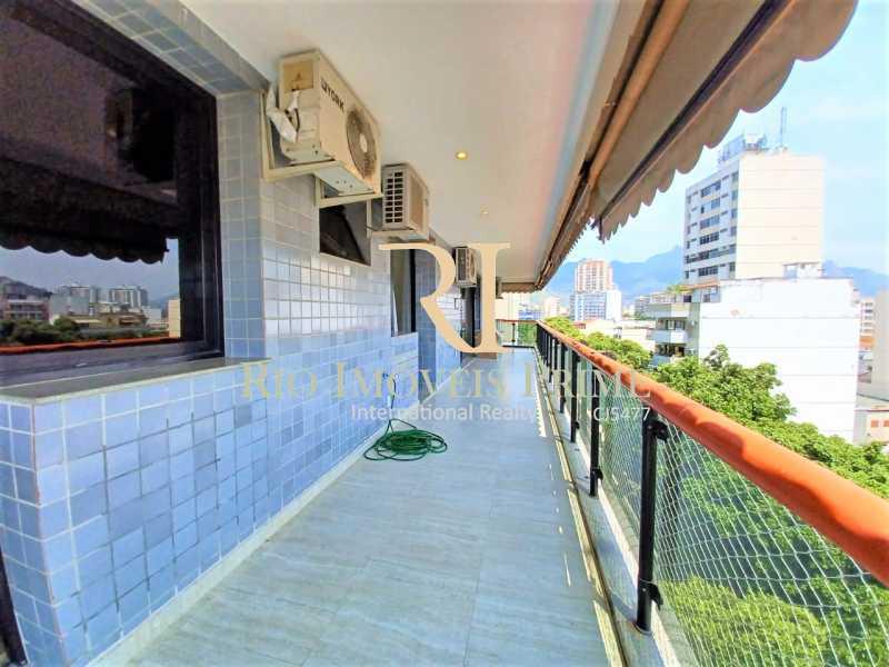 1 VARANDA - Apartamento para alugar Avenida Maracanã,Tijuca, Rio de Janeiro - R$ 5.000 - RPAP40021 - 1