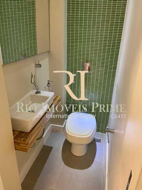 LAVABO. - Apartamento para alugar Rua das Laranjeiras,Laranjeiras, Rio de Janeiro - R$ 2.600 - RPAP10055 - 19