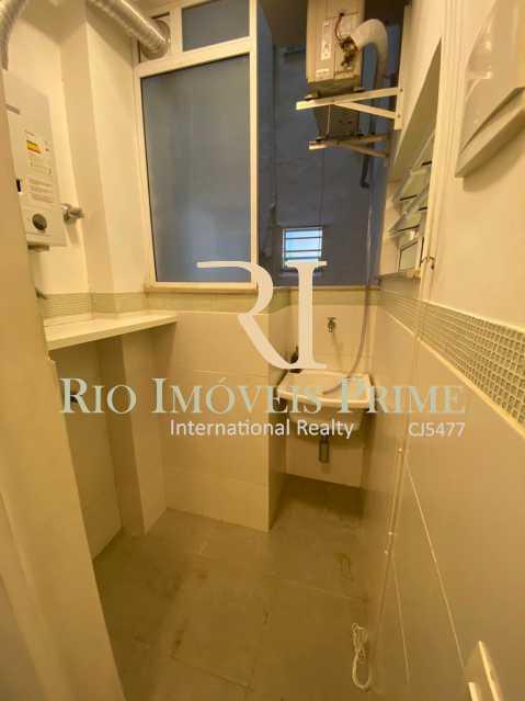 ÁREA SERVIÇO. - Apartamento para alugar Rua das Laranjeiras,Laranjeiras, Rio de Janeiro - R$ 2.600 - RPAP10055 - 20