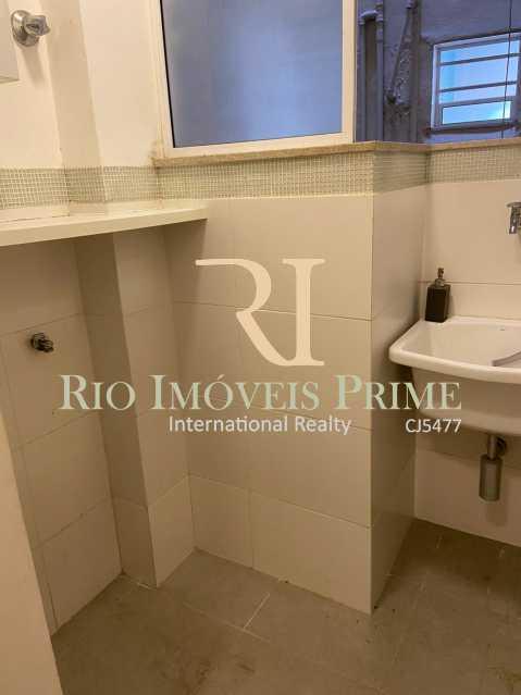 ÁREA SERVIÇO. - Apartamento para alugar Rua das Laranjeiras,Laranjeiras, Rio de Janeiro - R$ 2.600 - RPAP10055 - 22