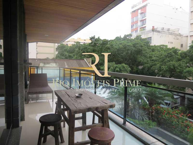 1 VARANDA - Flat 2 quartos para venda e aluguel Ipanema, Rio de Janeiro - R$ 1.999.990 - RPFL20010 - 1