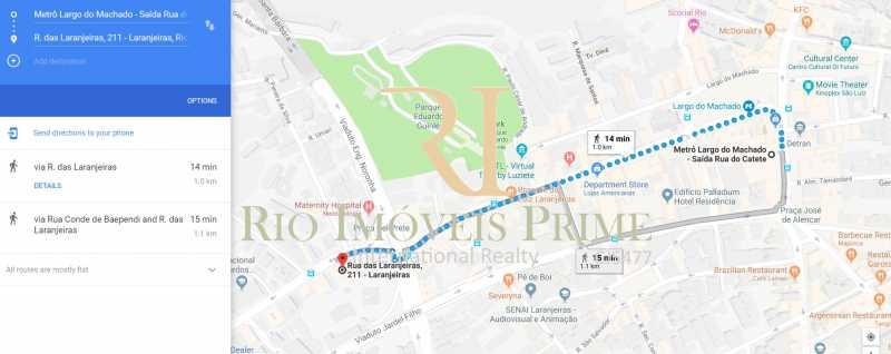 DISTÂNCIA PALAZZO DO METRÔ - Flat 1 quarto à venda Laranjeiras, Rio de Janeiro - R$ 620.000 - RPFL10091 - 14