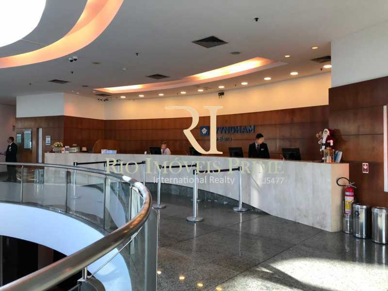 RECEPÇÃO - Flat 1 quarto à venda Barra da Tijuca, Rio de Janeiro - R$ 749.900 - RPFL10092 - 29