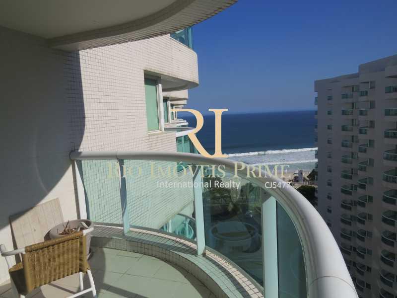 VARANDA - Flat 1 quarto à venda Barra da Tijuca, Rio de Janeiro - R$ 749.900 - RPFL10092 - 3