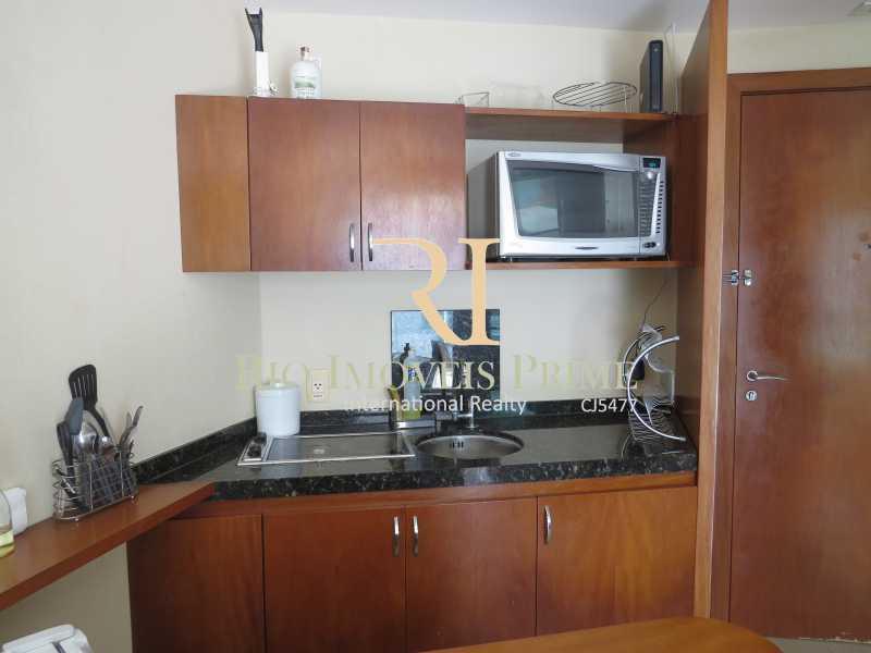 COZINHA AMERICANA - Flat 1 quarto à venda Barra da Tijuca, Rio de Janeiro - R$ 749.900 - RPFL10092 - 9