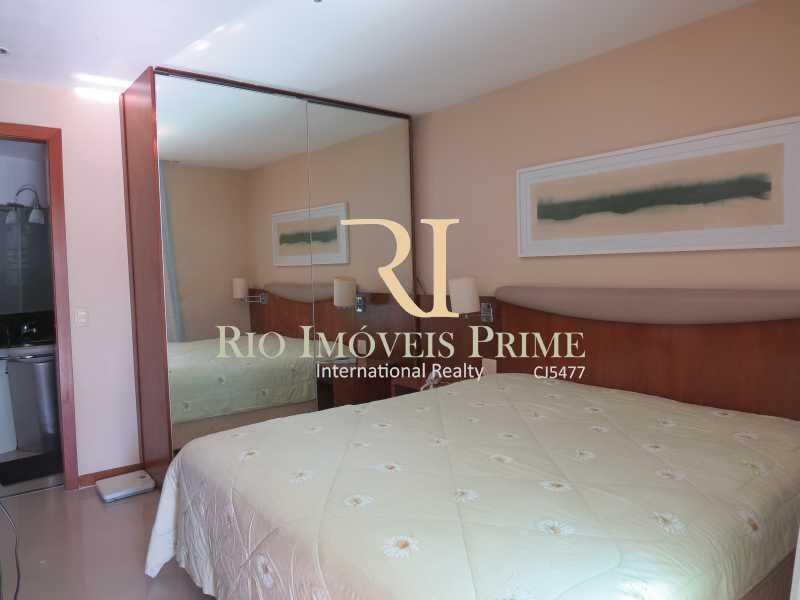 QUARTO - Flat 1 quarto à venda Barra da Tijuca, Rio de Janeiro - R$ 749.900 - RPFL10092 - 11