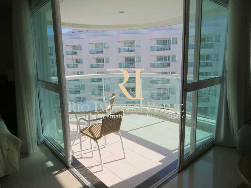 VARANDA - Flat 1 quarto à venda Barra da Tijuca, Rio de Janeiro - R$ 749.900 - RPFL10092 - 14