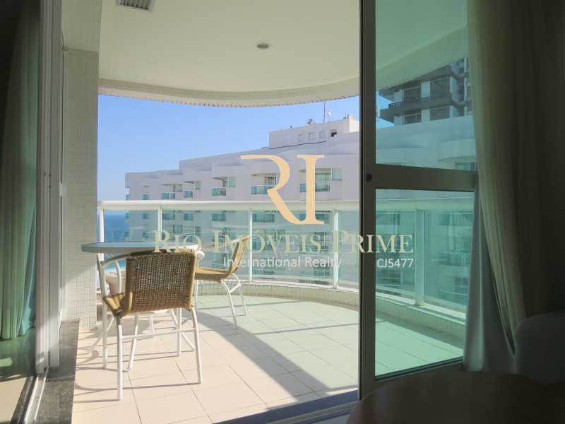 VARANDA - Flat 1 quarto à venda Barra da Tijuca, Rio de Janeiro - R$ 749.900 - RPFL10092 - 15
