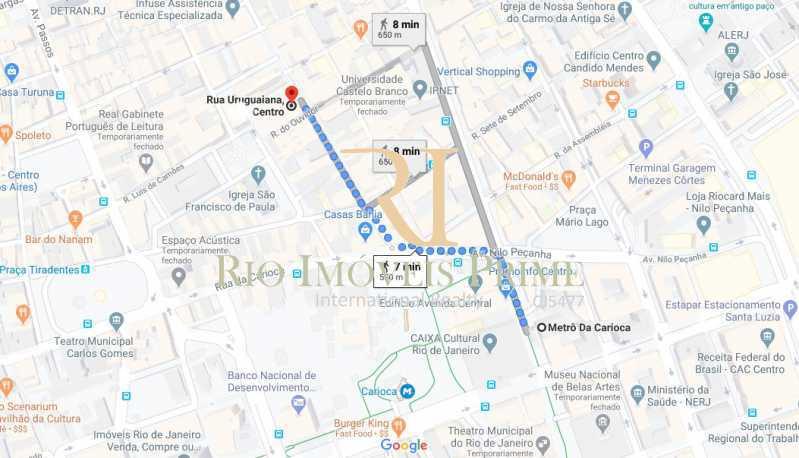 DISTANCIA METRO CARIOCA - Sala Comercial 156m² para alugar Rua Uruguaiana,Centro, Rio de Janeiro - R$ 5.460 - RPSL00022 - 12
