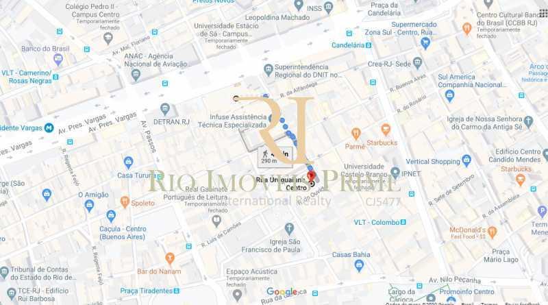 DISTANCIA METRO URUGUAIANA - Sala Comercial 156m² para alugar Rua Uruguaiana,Centro, Rio de Janeiro - R$ 5.460 - RPSL00022 - 11