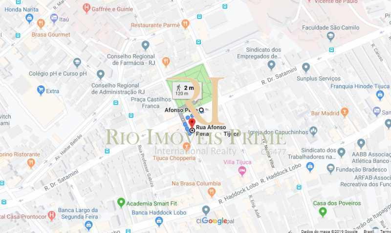 DISTANCIA METRO - Apartamento 3 quartos à venda Tijuca, Rio de Janeiro - R$ 599.900 - RPAP30108 - 21