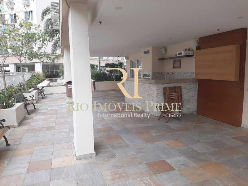 ESPAÇO CHURRASQUEIRA - Apartamento 2 quartos para alugar São Cristóvão, Rio de Janeiro - R$ 1.500 - RPAP20168 - 22