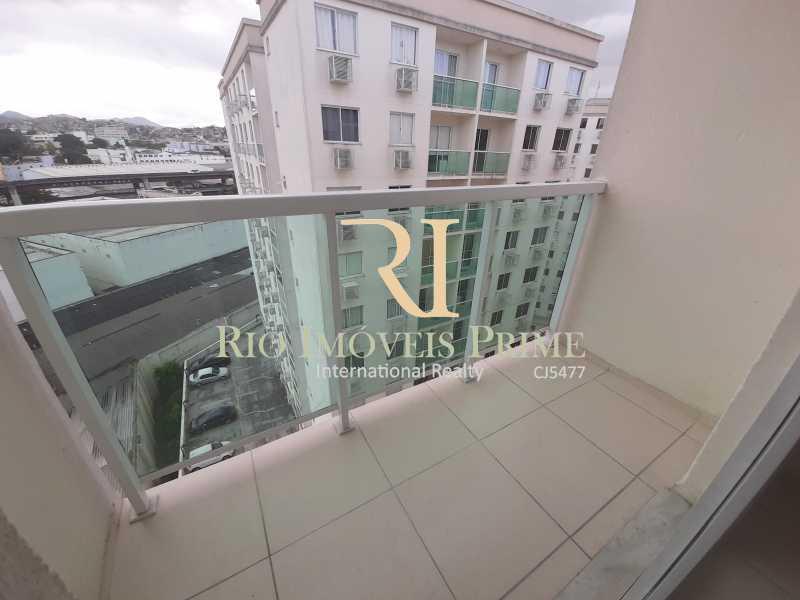 VARANDA - Apartamento 2 quartos para alugar São Cristóvão, Rio de Janeiro - R$ 1.500 - RPAP20168 - 4