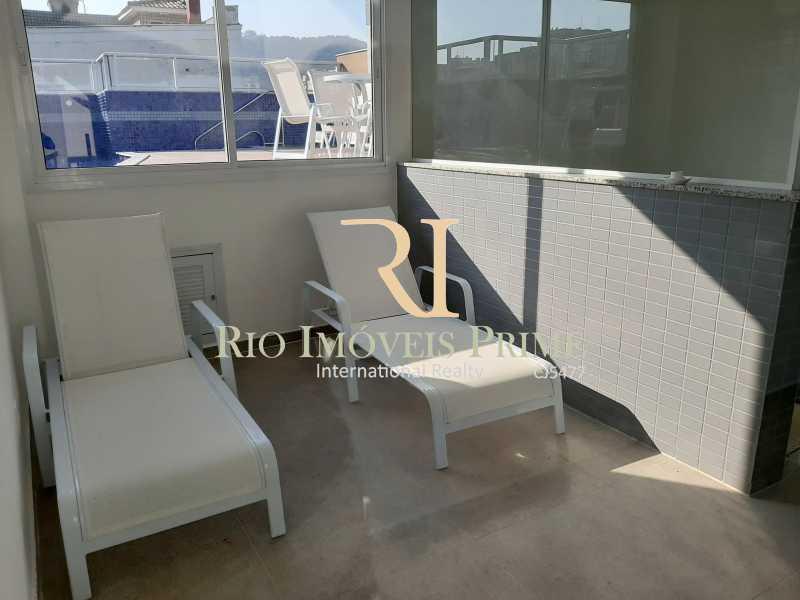 SAUNA/ÁREA REPOUSO - Apartamento 3 quartos à venda Grajaú, Rio de Janeiro - R$ 732.500 - RPAP30109 - 22
