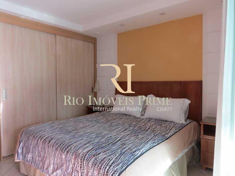 QUARTO - Flat Para Venda e Aluguel - Barra da Tijuca - Rio de Janeiro - RJ - RPFL10007 - 12